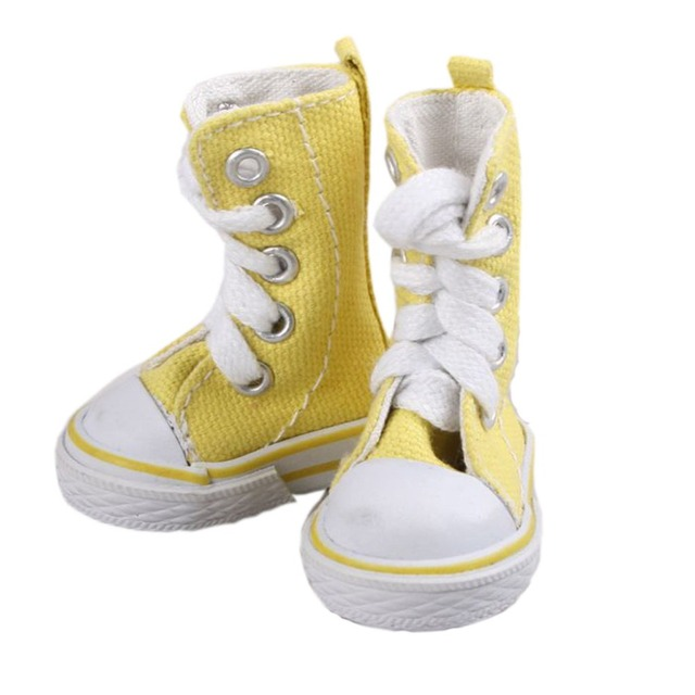 [wamami]Yellow Gaotong Shoes/Sneakers For 1/6 SD DOD AOD DZ LUTS BJD Dollfie