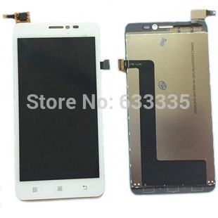 LCD Display Touch Screen Digitizer Assembly For Lenovo s850 s850t front outer glass black white