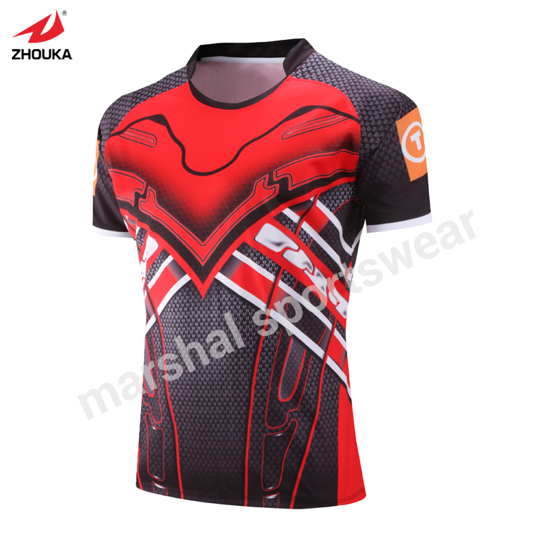 customized Rugby team training suit full sublimated design cheap rugby league jersey american football maillot rugby jersey morphological adaptations specific to rugby players