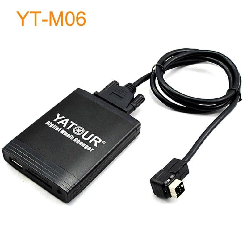 ФОТО Car Digital Music MP3 CD Changer with AUX USB for Factory Clarion Head Unit OEM Radio for Suzuki Swift Jimny SX4 Grand Vitara