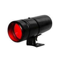 Tachymètre RPM Léger Décalage Réglable Tacho Auto Gauge Attention Maj Lumière LED Lampe De Voiture compteur Noir Shell Rouge Lumière