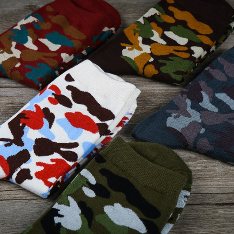 10 Pairs Lot Marvel Camouflage Funny Socks Men Cotton Men 39 s Fashion Hip hop Cool Socks Army Green Clothes Shoes Wear Stockings in Men 39 s Socks from Underwear amp Sleepwears