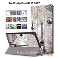Case For Amazon Kindle All New Fire HD 10 Tablet With Alexa 10 1 2017 Smart