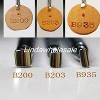 Гравировка кожи инструменты B203/B200/B935, штамп-печатка, металлические инструменты для стемпинга