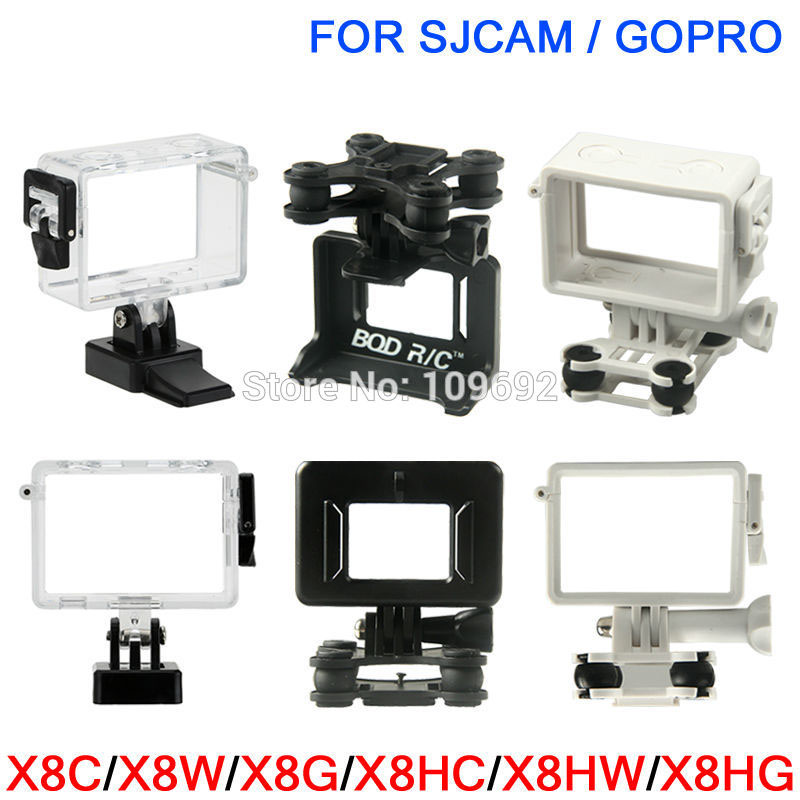 SYMA X8 X8C X8W X8G X8HC X8HW X8HG Camera Mount Holder Gimbal Gimble RC Quadcopter Drone Spare Parts For SJCAM GOPRO Accessories