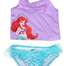 Girls Kids Bikini Set Mermaid Swimmable Baby Girl Princess Swimwear Summer Children Swimsuit Swimming Costumes