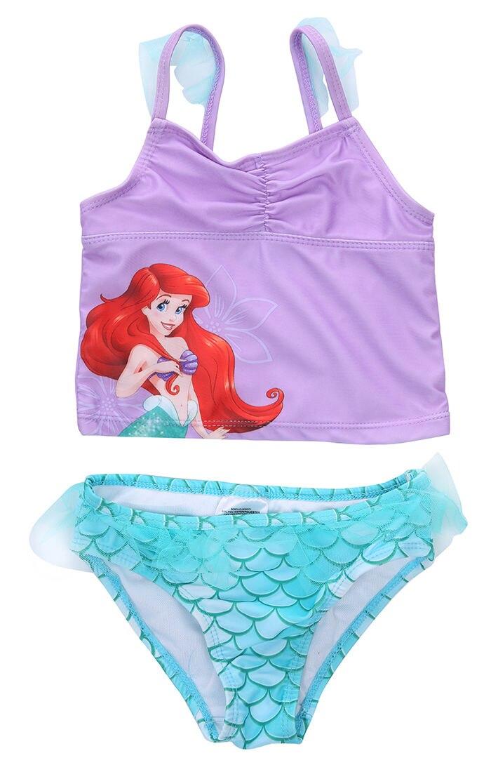 Kind Kleinkind Kinder Mädchen Prinzessin Bandage One Piece Tankini Badeanzug Bademode Baden Schwimmen Sommer