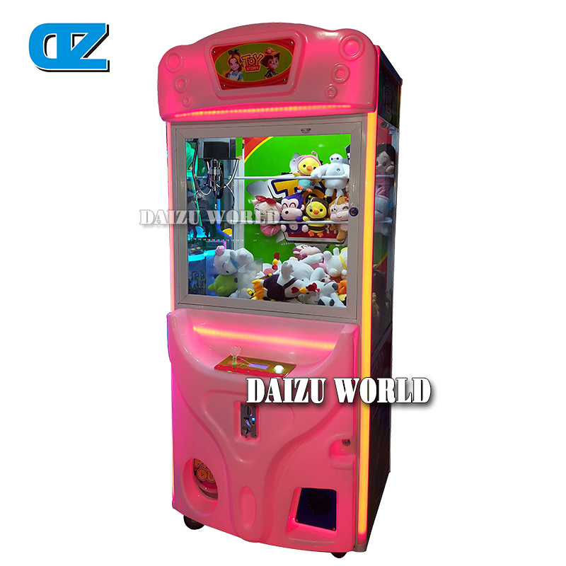 Toy Crane Machine , Colorful Doll Machine , Coin operated Claw Machine , Luxury Prize Machine ,Amusment equipmetns толстовка toy machine bummed black