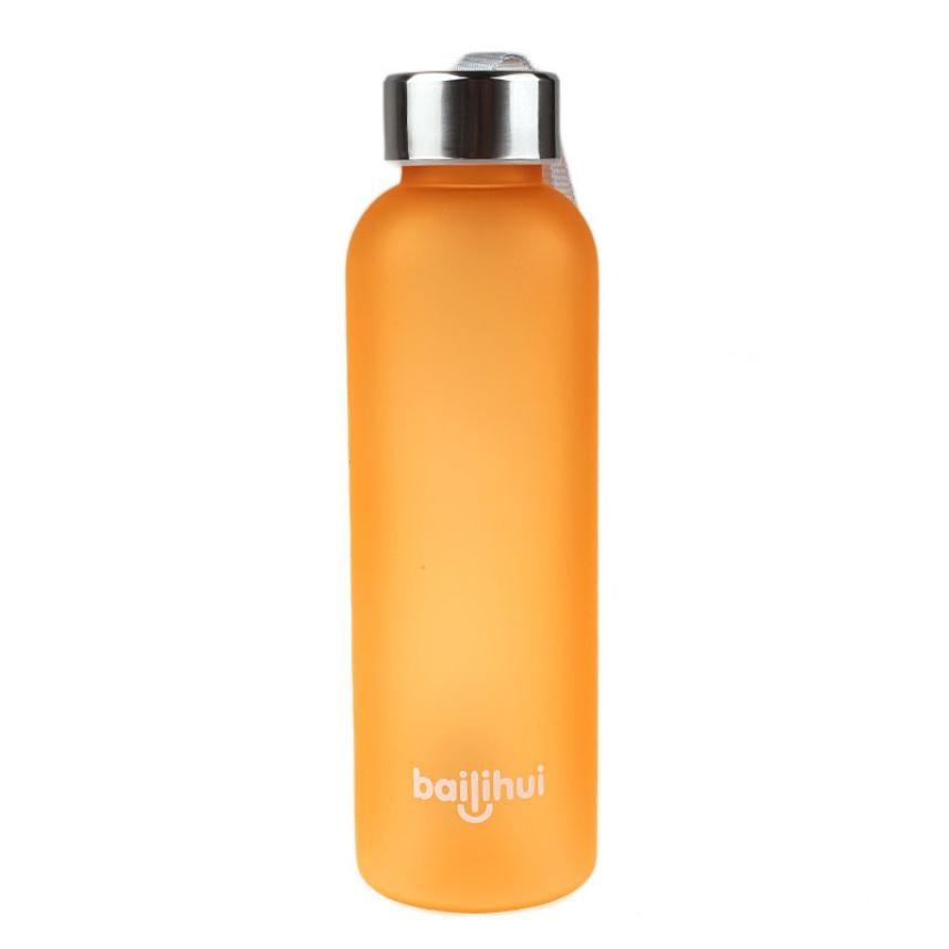 2018 New Leak Tight Fruit Juice Sport Portable Travel Bottle Water Cup 600ML 2o0402