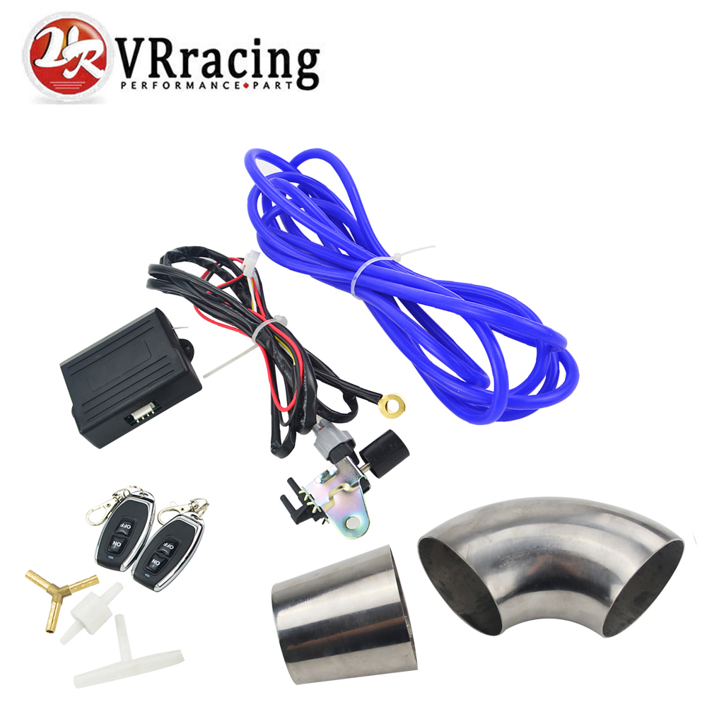 VR RACING - Control Exhaust Valve/Cutout Wireless Remote Controller Switch with ID:63mm stainless steel pipe VR-ECV-ACC-04 недорго, оригинальная цена