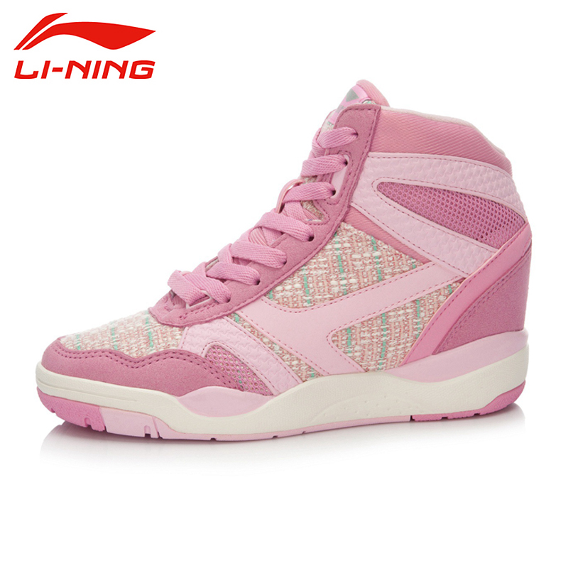 ФОТО LI-NING Brand New Arrival Glory Wmns Lifestyle Women's Classical Sports Walking Shoe Sneakers Shoes For Female ALCK112 XWC405