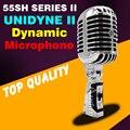 Бесплатная Доставка Высокое Качество Классический Vintage Микрофон Проводной Динамический Микрофон ретро 55SH SERIES 2 UNIDYNE Вокальный Микрофон Для КТВ Караоке ПК