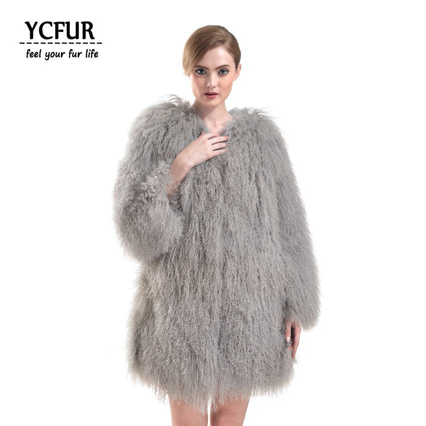 Online Buy Wholesale sheep fur coat from China sheep fur coat ...