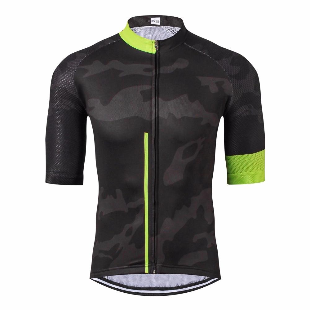 Pánská PRO TEAM Cyklistika Jersey Road Mtb Krátký rukáv Cyklistické tričko s dlouhým rukávem Bike Gear S-XXXL