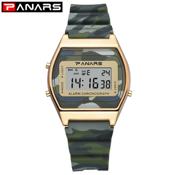 PANRAS Digital Watch men Sport Waterproof watch Alarm Man LED Display Wristwatch mens luxury brand Watches Fashion Men Watches