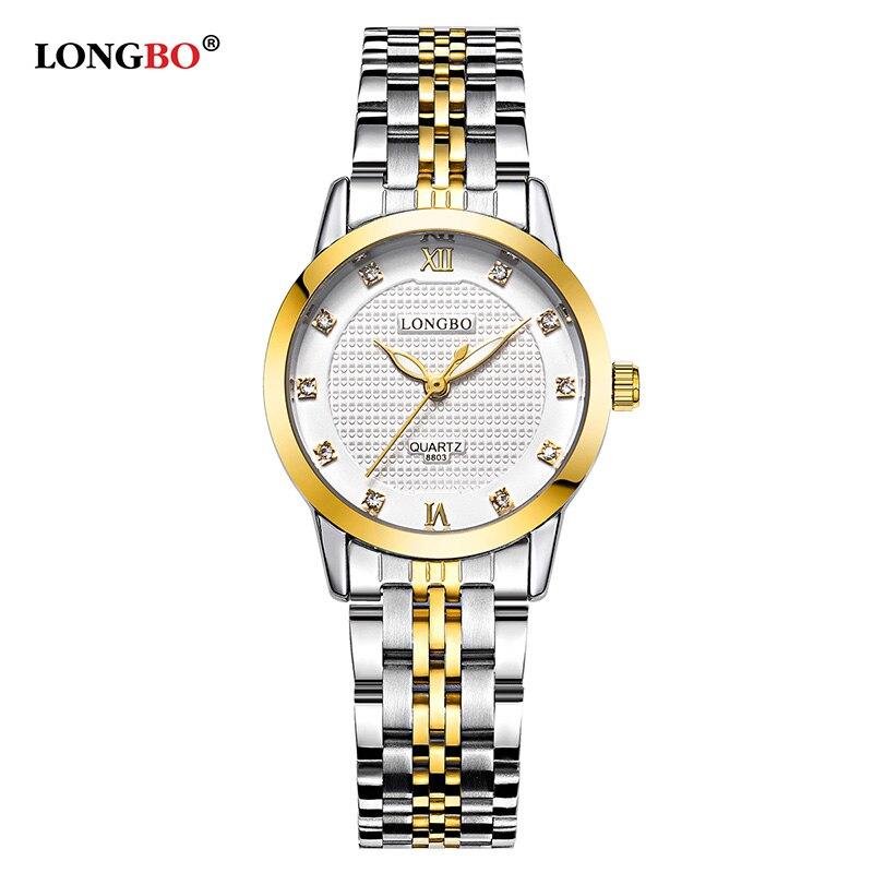 LONGBO Brand Men Women Brief Casual Unique Quartz Wrist Watches  Luxury Brand Quartz-watch Relogio Feminino Montre Femme 8803