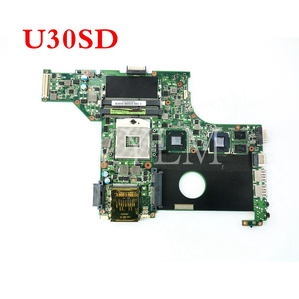 U30SD N12P-GV-S-A1 U30SD mainboard REV2.0 For U30SD U30S laptop motherboard 60-N3ZMB1300-A19 100% Tested Working free shipping free shipping 5pcs lot kb930qf a1 930qf a1 qfp offen use laptop p 100% new original