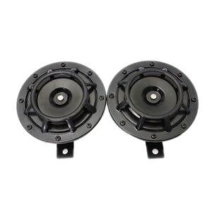 Image 4 - Klaxon de calandre Supertone double (paire) 12V 139dB pour Subaru Impreza WRX Evo neuf (rouge/noir)