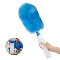 Handheld Keyboard Blinds Motorized Brush Household Cleaning Tools Rechable Electric Duster Cleaning Brush Portable Hair Brush 35