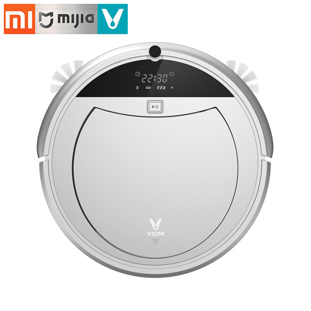 Xiaomi VIOMI Robot Cleaner Automatic Vacuum Cleaner Robot Smart Robotic Vacuum Cleaner Clean Sweeping Machine App Remote Control liectroux x5s robotic vacuum cleaner wifi app control gyroscope navigation switchable water tank