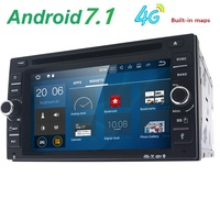 6 2 HD Android 7 1 Quad Core 16GB Flash Universal Double 2 Din Car Dvd