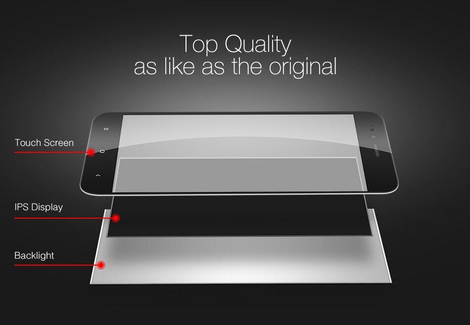 HTB1Zd4SgFGWBuNjy0Fbq6z4sXXaP For Xiaomi Mi A1 LCD Display + Frame Screen 10 Touch Panel MiA1 Mi5X LCD Display Digitizer Touch Screen Repair Spare Parts