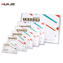 T-shape Transparent Card Display Stand Acrylic Meeting Desk Label Price Tag Card Frame Desk Card Holders Office Supplies DE5021T 60 90mm price tag name card display acrylic magnetic picture photo frame declining desk sign frame ad block label display stand