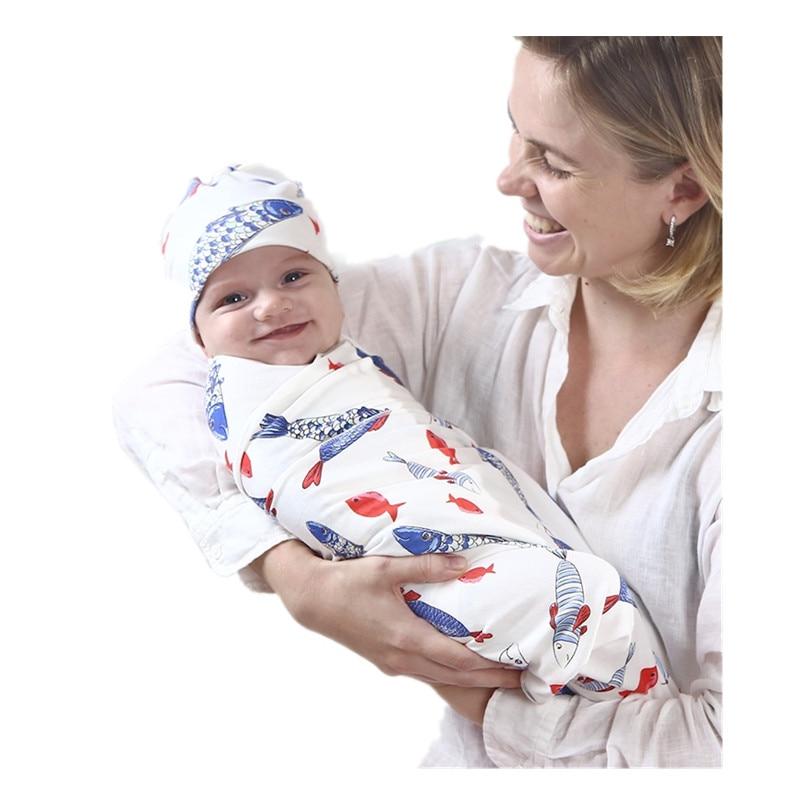 Baby Blanket With Hat Stuff For Newborn Stroller Cotton Blankets Super Soft Infant Wrap Kids Month Swaddle Inbakeren Photography