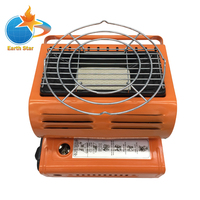 Earth Star Heater Burner Gas Heater 1 3kw Travelling Camping Hiking Picnic Equipment Dual Purpose Use