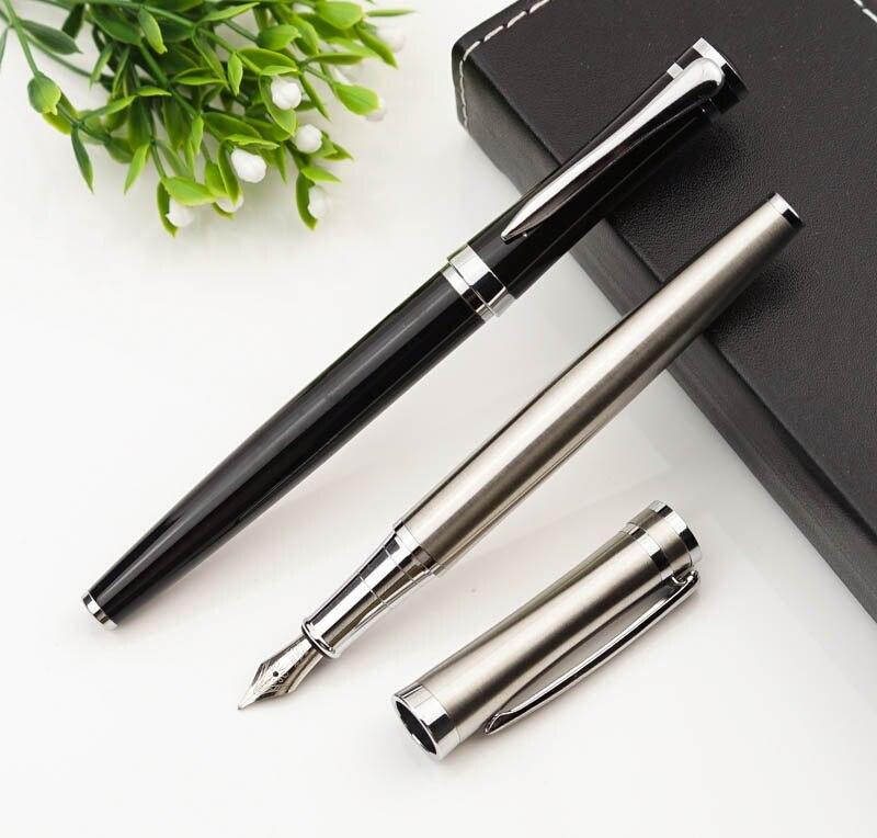 High Quality Iraurita Fountain Pen Full Metal Luxury Pens Caneta Office School Stationery Supplies engrave logo
