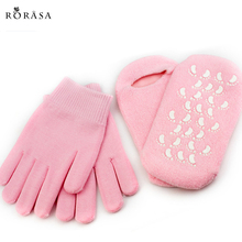 1 Pair SPA Gel Gloves OR Socks Reusable Moisturizer Whitenin