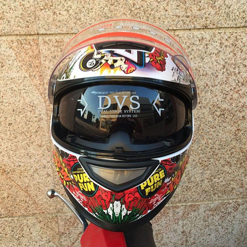 Safety Hat Men flip up double visor motorcycle helmet racing motorbike helmet internal sun visor shield modular women hat 1000m motorcycle helmet intercom bt s2 waterproof for wired wireless helmet