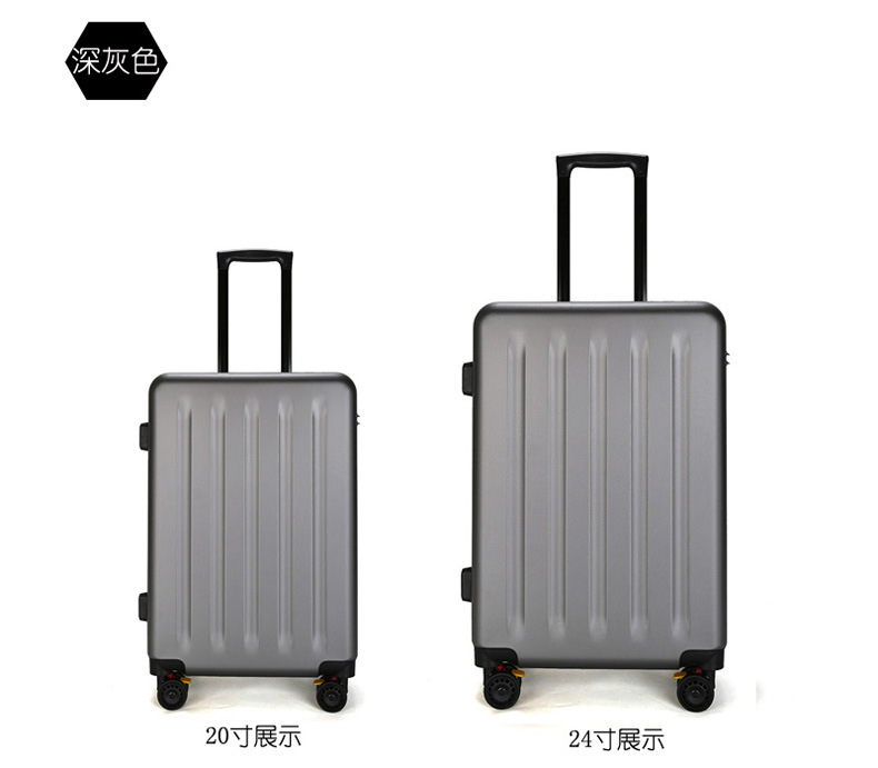 ZYJ Travel Trolley Luggage Men Women Alloy Business Solid Rolling Scratchproof Airplane Suitcase Luggage Spinner Wheels Trunk (10)