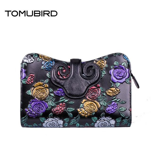 TOMUBIRD 2016 New luxury handbags women bags fashion embossing genuine leather clutch chains women leather shoulder bag