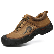 Человек Пеший Туризм обувь толстая подошва на шнуровке Нескользящая спортивная обувь Высокое качество открытый подошва защиты мужские кроссовки 9908 прогулочная обувь