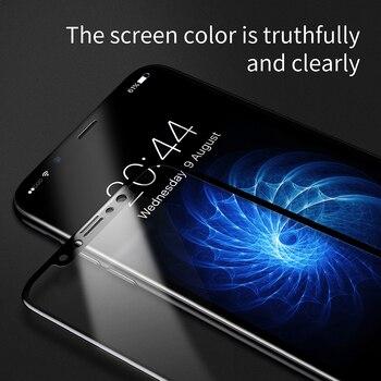 Закаленное стекло Baseus для iPhone X 10 5