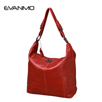 Top Quality Genuine Leather Handbags Evening Clutch Office Ladies Hobos Bag Totes Color Daily Bag Cowhide