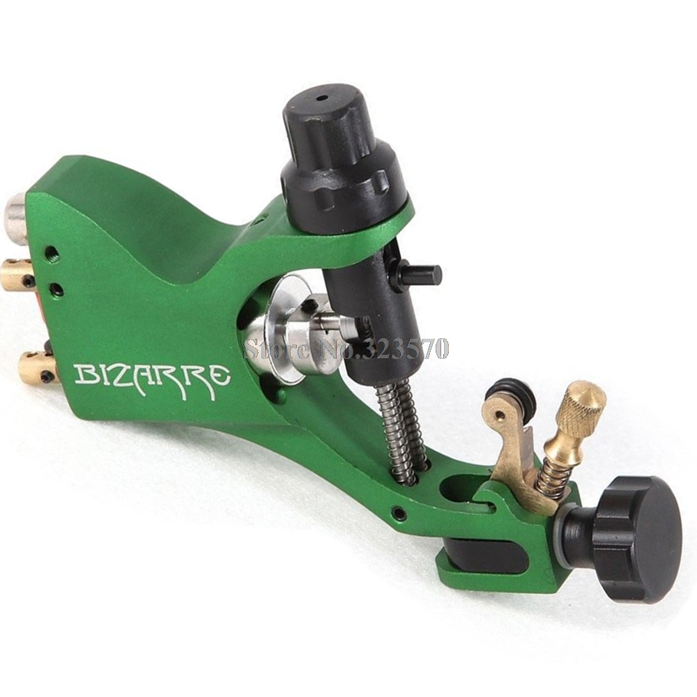 Pro Top Swiss Motor Rotary Tattoo Machine Green For Tattoo Supply Free RCA Cord pro top swiss motor rotary tattoo machine blue for tattoo supply free rca cord