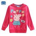 Novatx F4275 Дети Девушка футболка Девочка Одежда Мода Футболка для Девочек Весна Осень С Длинным Рукавом Случайные Т рубашка