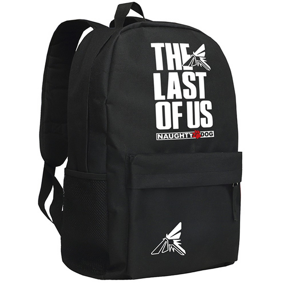 MeanCat PS3 Game The Last of Us Naughty Dog Steam Games Cosplay School Backpack The Last of Us Schoolbag Mochila naughty dog майка