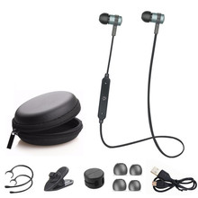 4.2Bluetooth Headphone Wireless Stereo Headset Sport Earhook Earphone with microphone USB Charge fone de ouvido