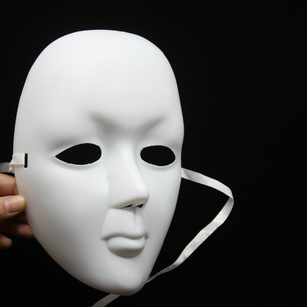 Aliexpress.com : Buy DIY Scary White Face Mask Halloween ...