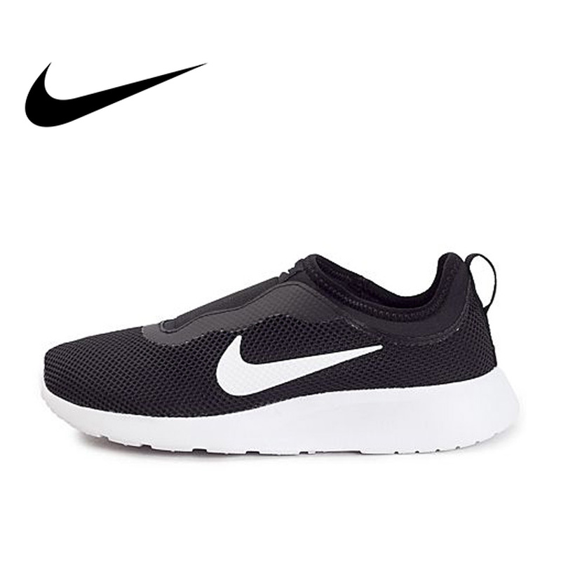 Original Official WMNS NIKE TANJUN SLIP Womens Breathable Running Shoes Slip-On Sports Sneakers Outdoor Walking Jogging 902866Original Official WMNS NIKE TANJUN SLIP Womens Breathable Running Shoes Slip-On Sports Sneakers Outdoor Walking Jogging 902866