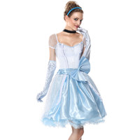 Fairy Tale Role Playing Game Party Sexy Cinderella Costume Adult Snow White Princess Fancy Dress Halloween Costumes For Women