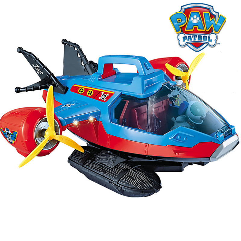 Genuine Paw Patrol Dog Toy patrol Pirate Ship Rescue Aircraft Yacht Ryder Captain Robot Dog Patrulla Canina Action Figures GiftGenuine Paw Patrol Dog Toy patrol Pirate Ship Rescue Aircraft Yacht Ryder Captain Robot Dog Patrulla Canina Action Figures Gift