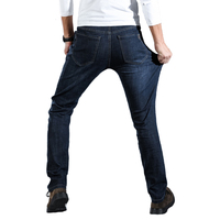 New High Stretch Jeans Men S Slim And Straight Youth Elastic Leisure Big Size 906QT1860P50