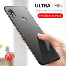 Ultra Thin Phone Case For Xiaomi Mi8 Mi 8 Lite Full Cover Shockproof Case For Xiaomi Mi 8 Mi8 SE Pro Hard PC Slim Matte Case