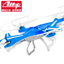 F16706/9 Attop YD-829 2.4G 4CH 6-axle Gyro RTF RC Quadcopter Drone 3D 360 Flips One Key Lock Headless UFO Helicopter Toys