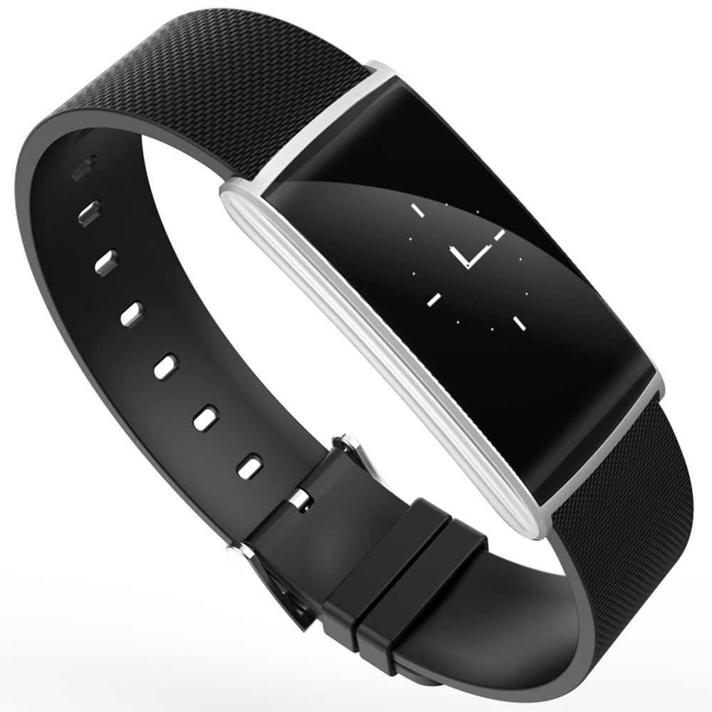 NK108 الذكية باند سوار مراقب معدل ضربات القلب جهاز مراقبة اللياقة على شكل سوار يد ضغط الدم Smarband آيفون سامسونج LG HTC هواوي