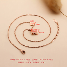 Smart Butterfly Pendant Necklace For Women